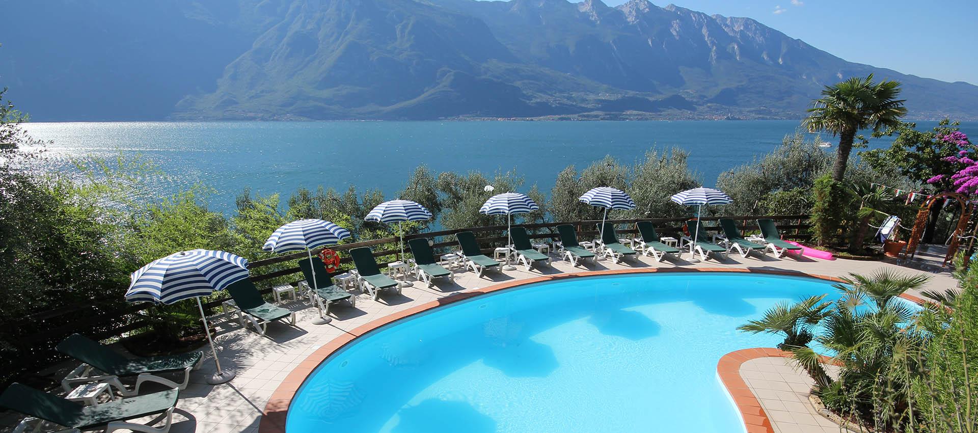 Gardasee Limone Hotel Direkt Am See
